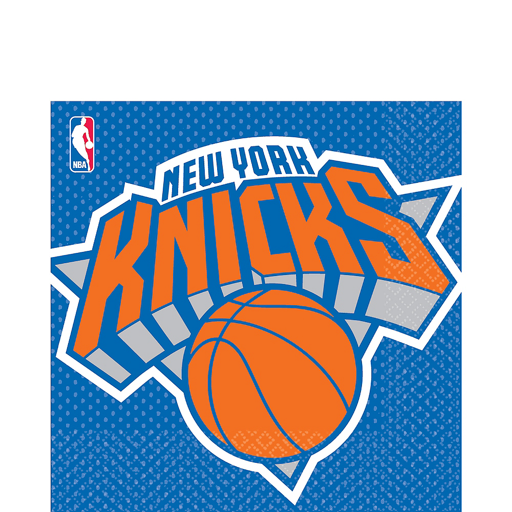 New York Knicks Lunch Napkins 16ct Image #1