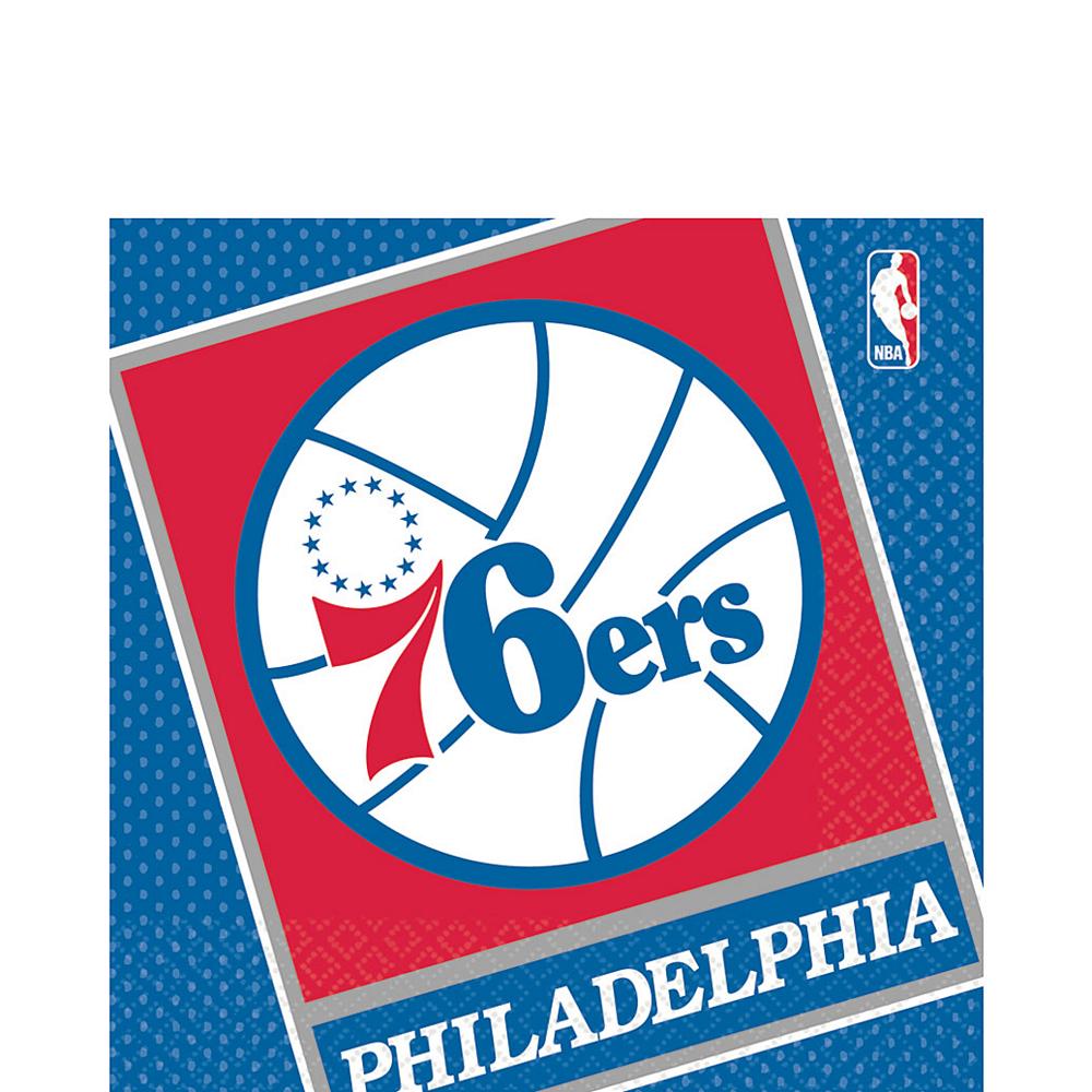 Philadelphia 76ers Lunch Napkins 16ct Image #1