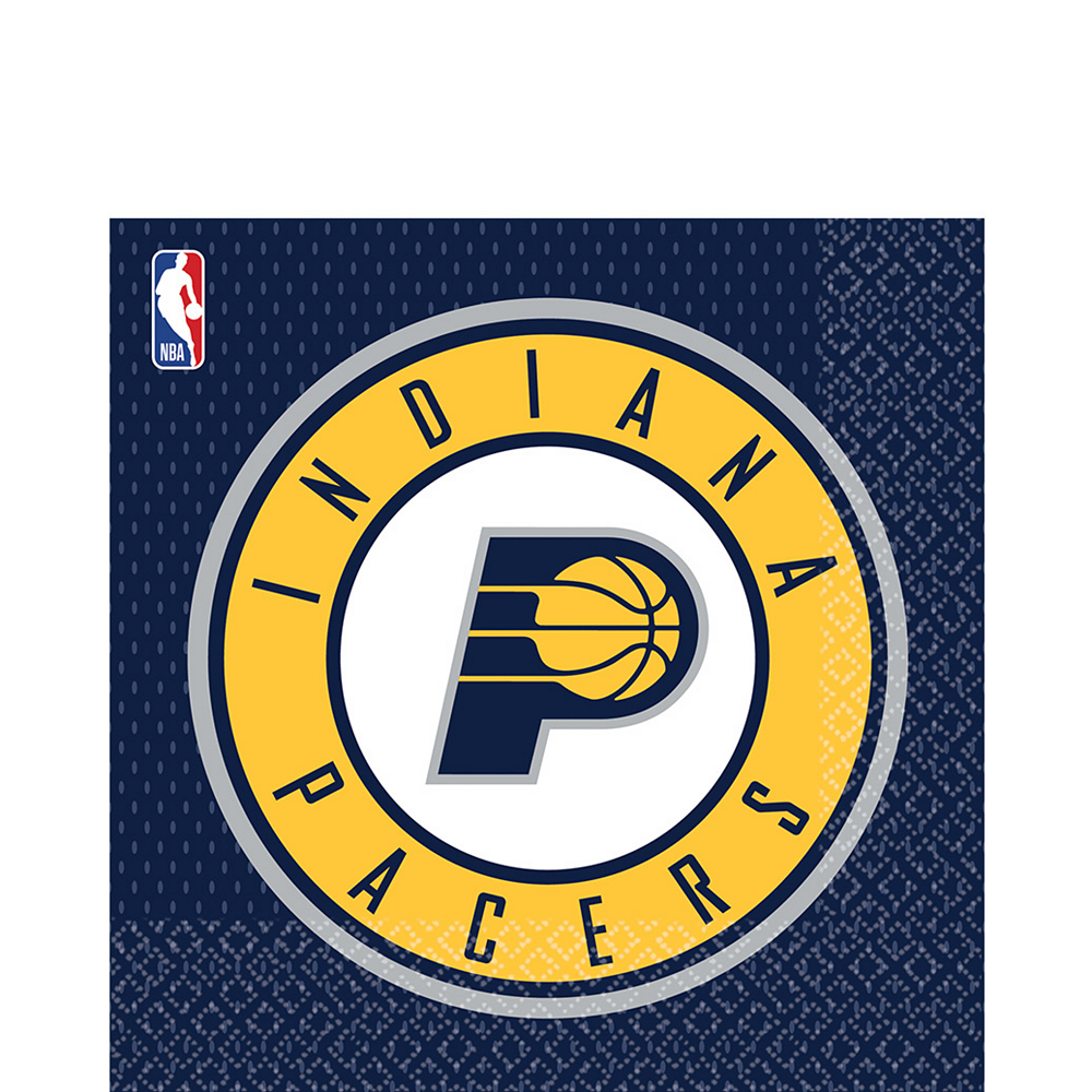 Indiana Pacers Lunch Napkins 16ct Image #1