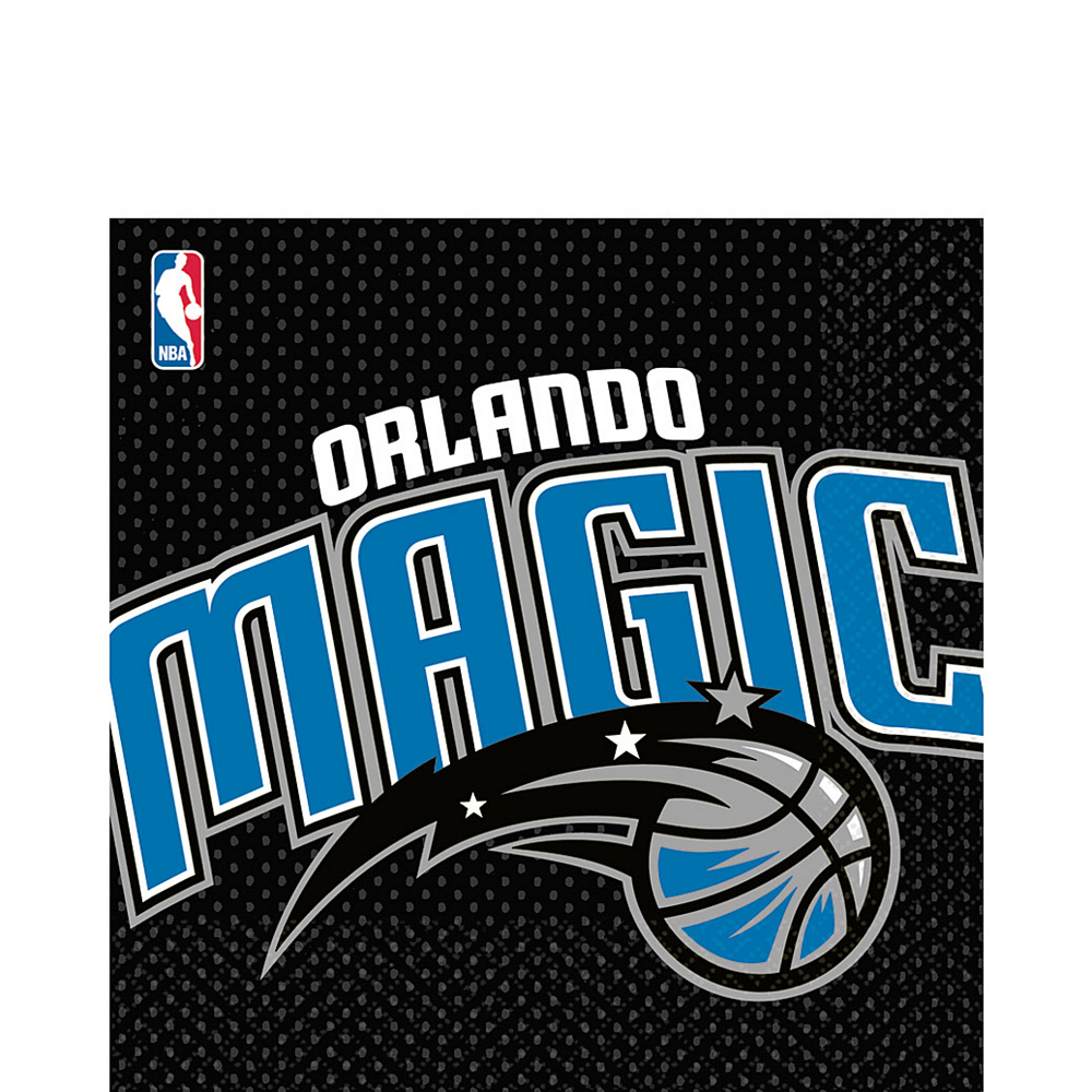 Orlando Magic Lunch Napkins 16ct Image #1