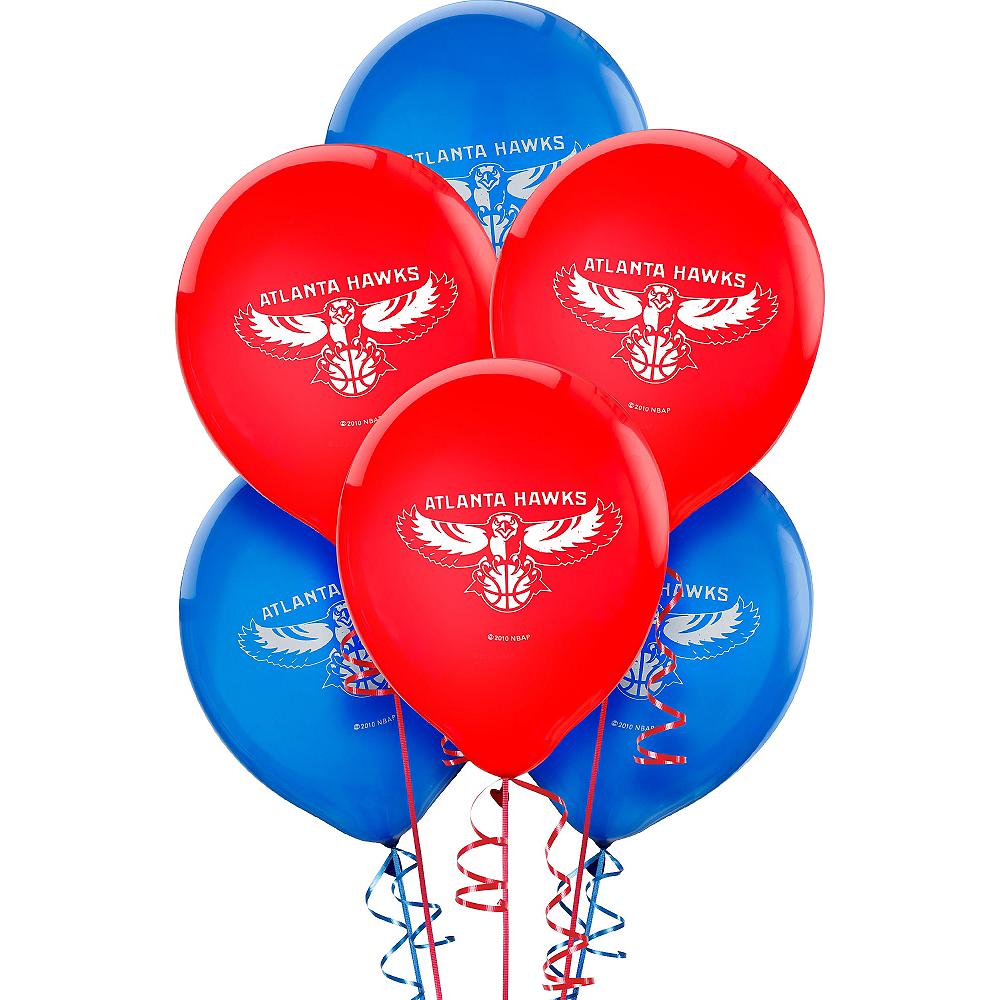 Atlanta Hawks Balloons 6ct Image #1