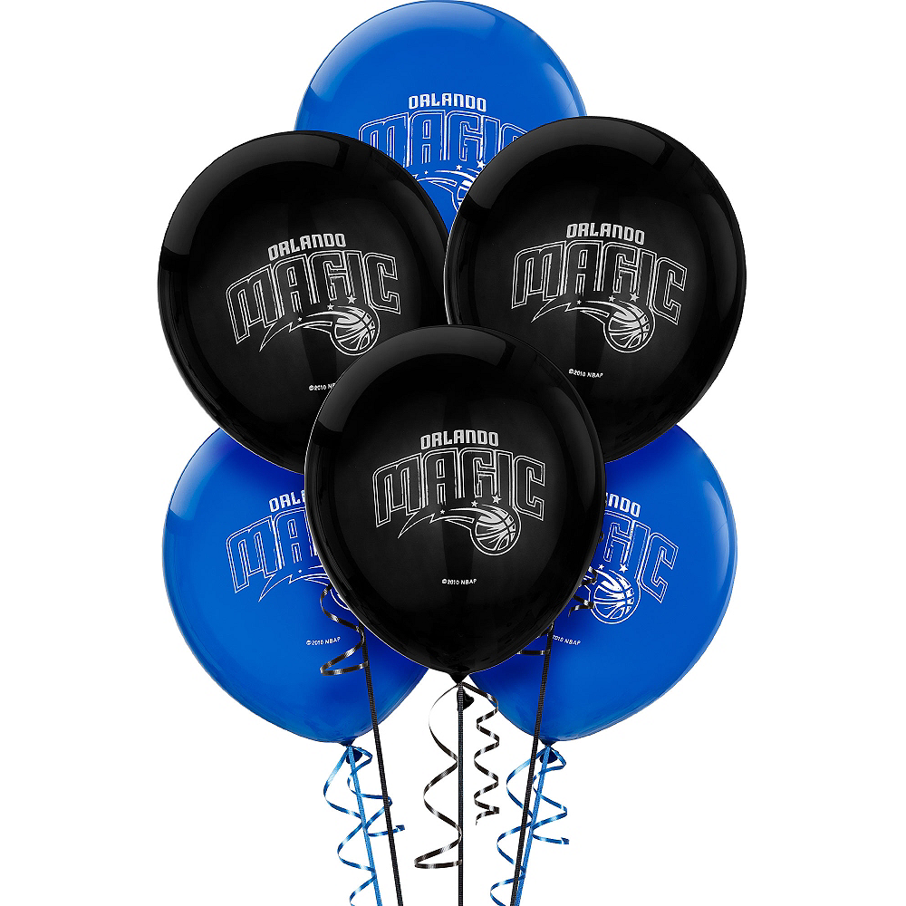 Orlando Magic Balloons 6ct Image #1
