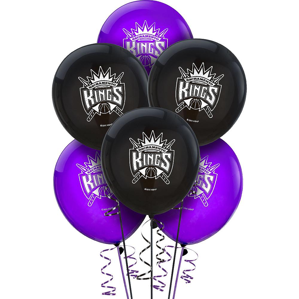 Sacramento Kings Balloons 6ct Image #1