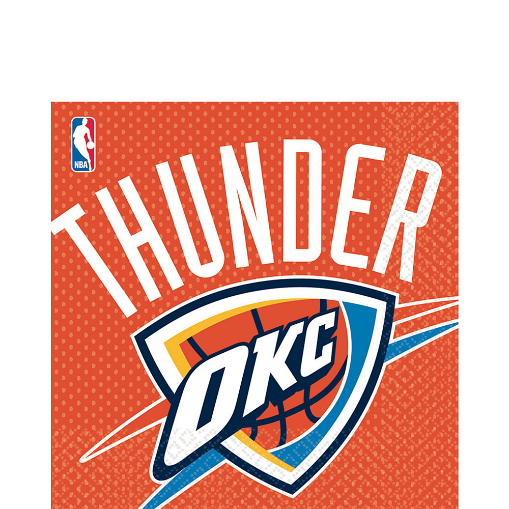 Nav Item for Oklahoma City Thunder Lunch Napkins 16ct Image #1
