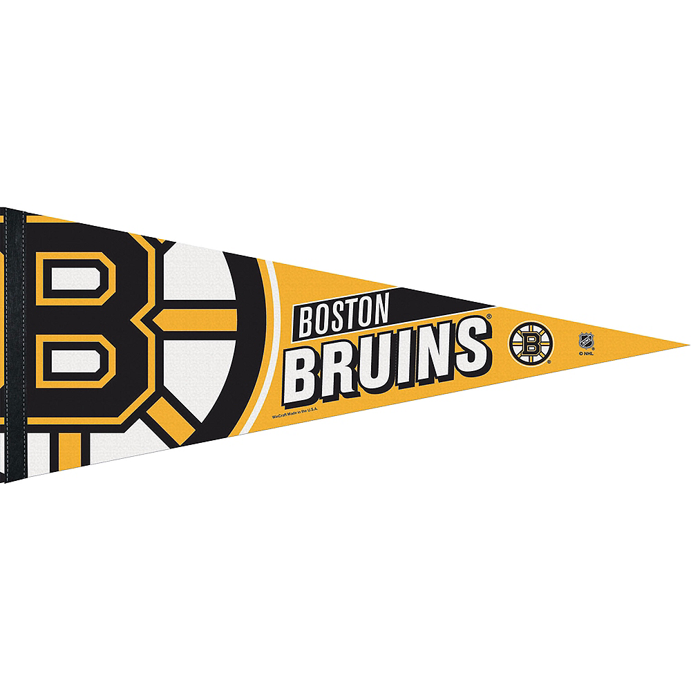 Nav Item for Boston Bruins Pennant Flag Image #1