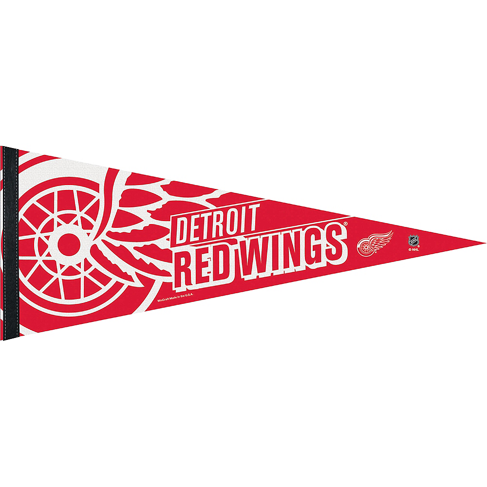 Detroit Red Wings Pennant Flag Image #1