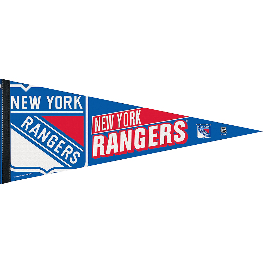New York Rangers Pennant Flag Image #1
