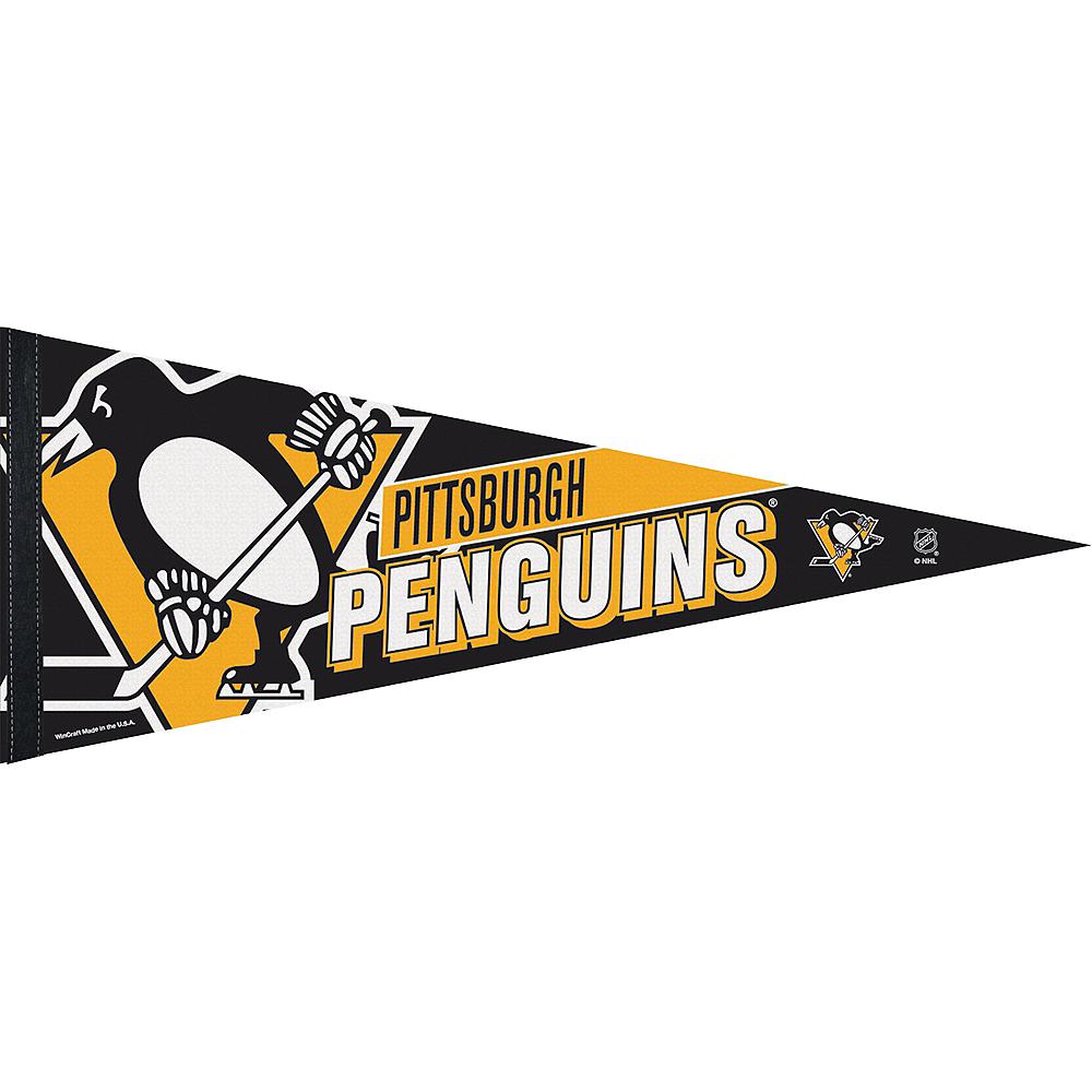 Pittsburgh Penguins Pennant Flag Image #1