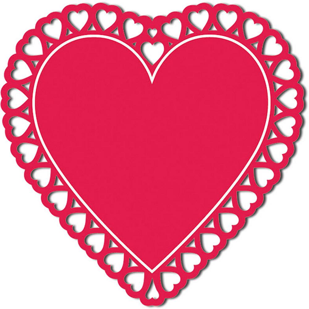 Heart Silhouette Cutout Image #1