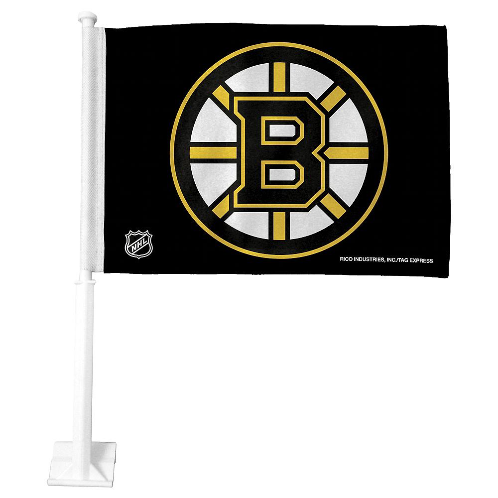 Boston Bruins Car Flag Image #1