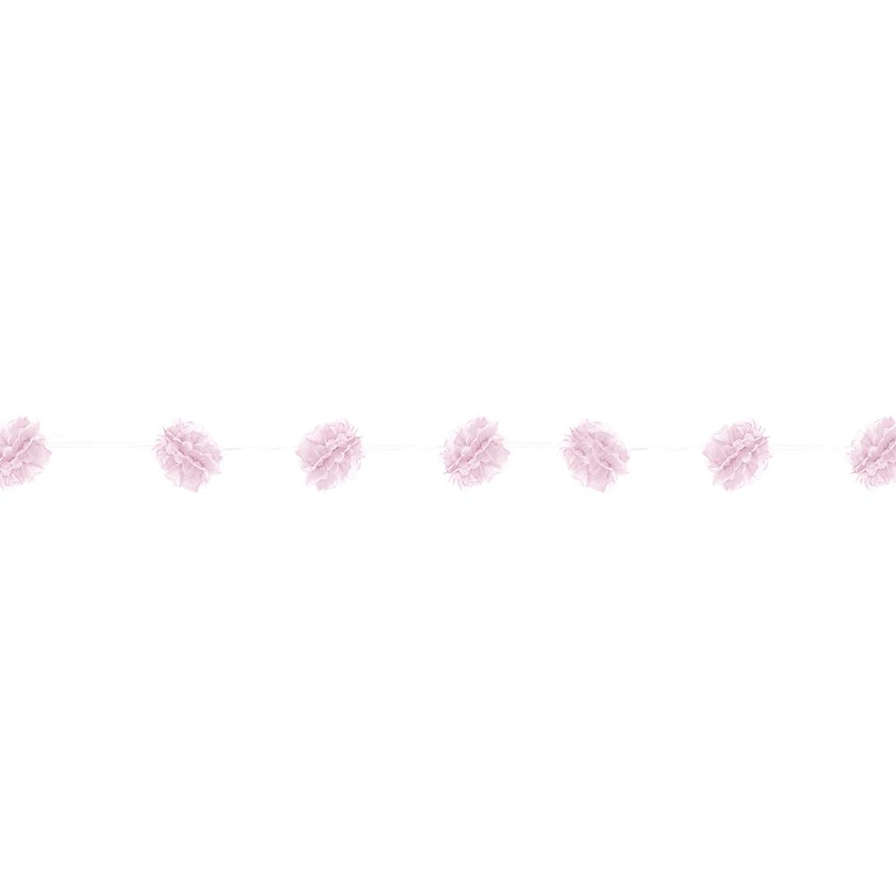 Light Pink Fluffy Garlands 2ct Image #1
