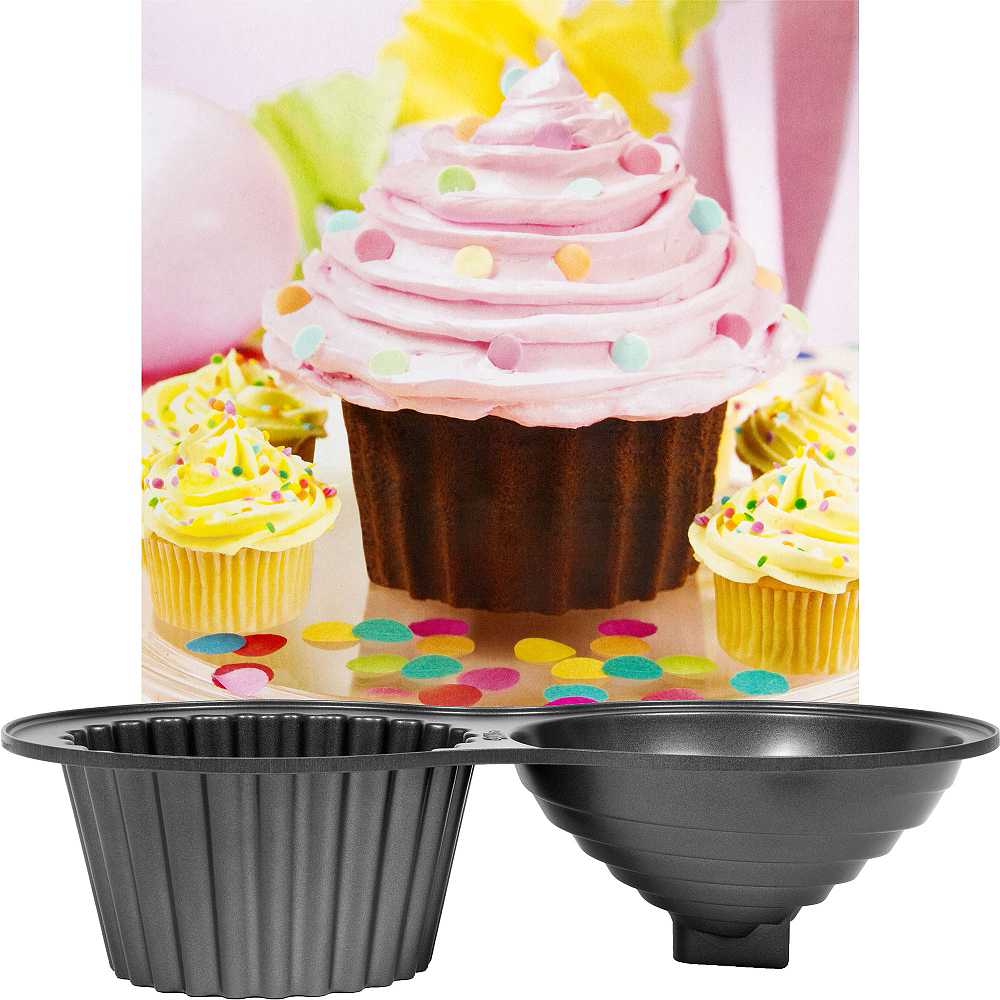 Nav Item for Wilton Non-Stick Large Cupcake Pan Image #1