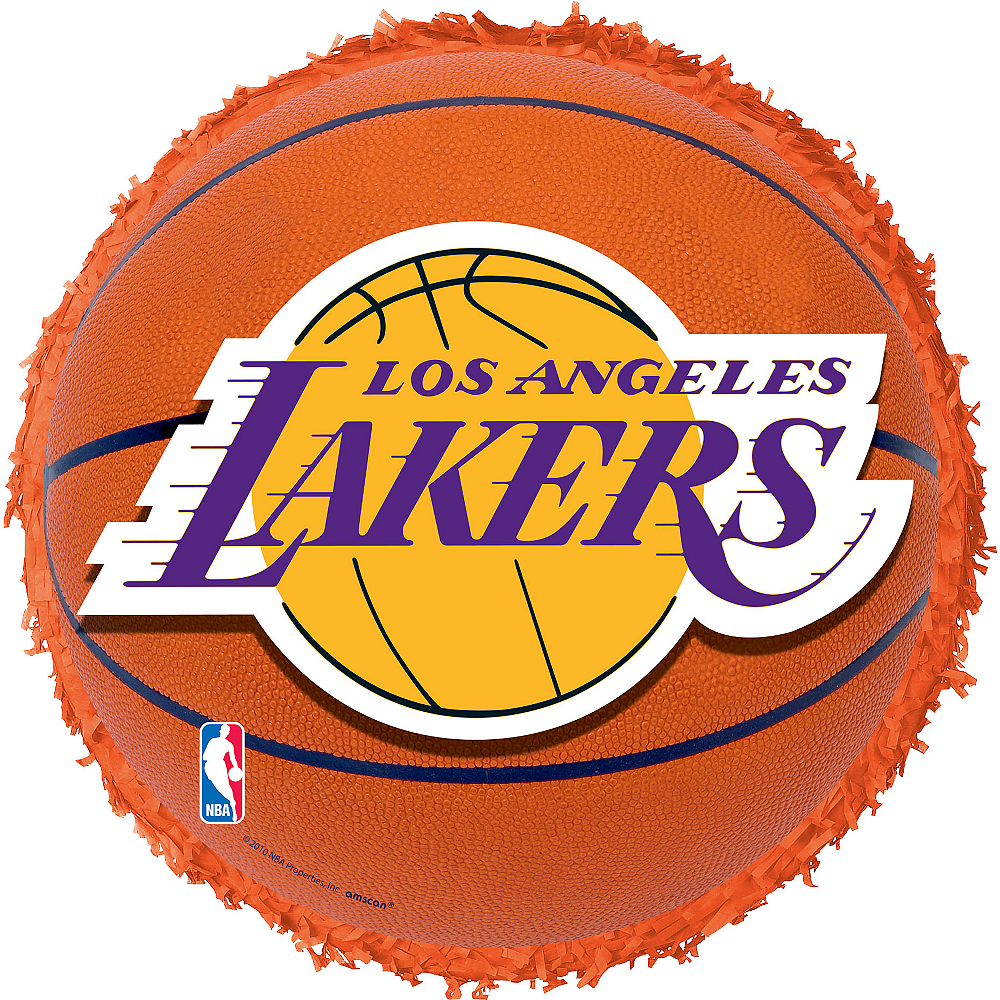 Nav Item for Los Angeles Lakers Pinata Image #1