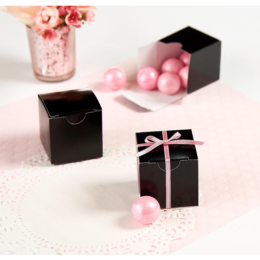 Black Square Favor Boxes Image #1