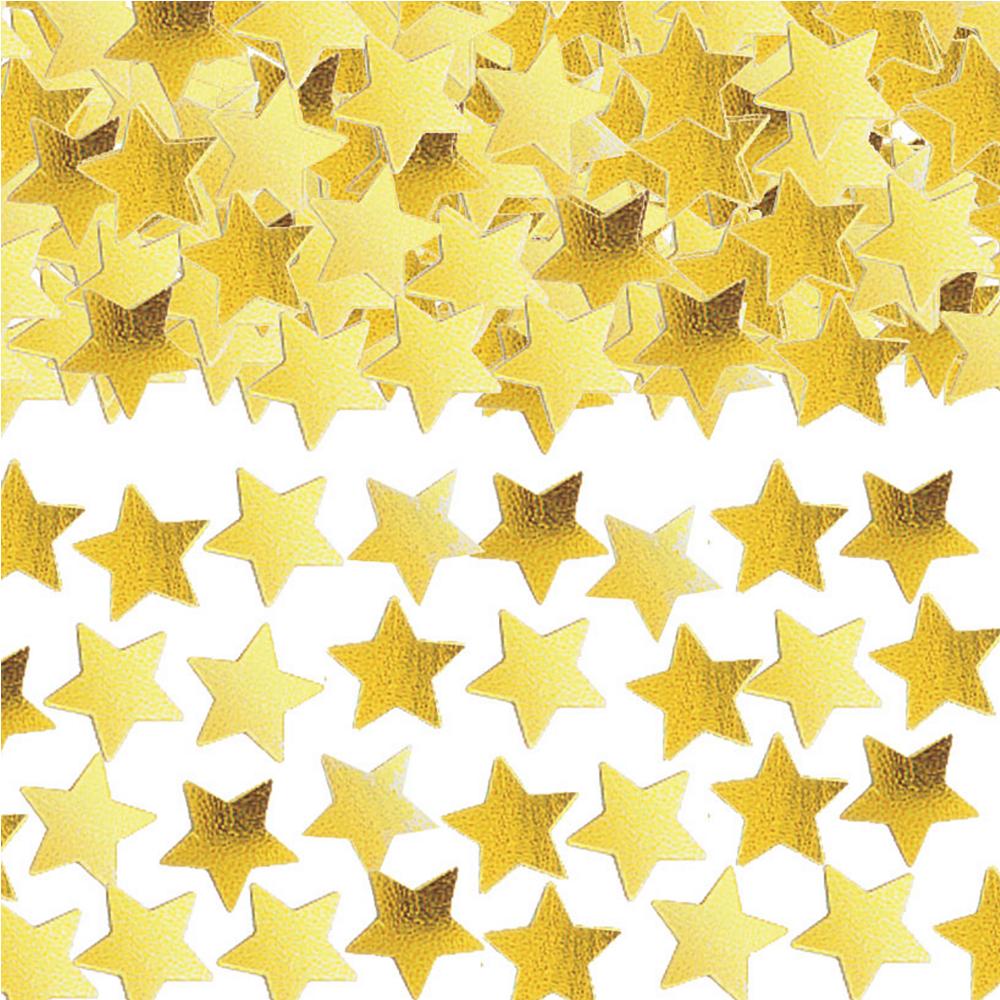Mini Gold Star Confetti Image #1