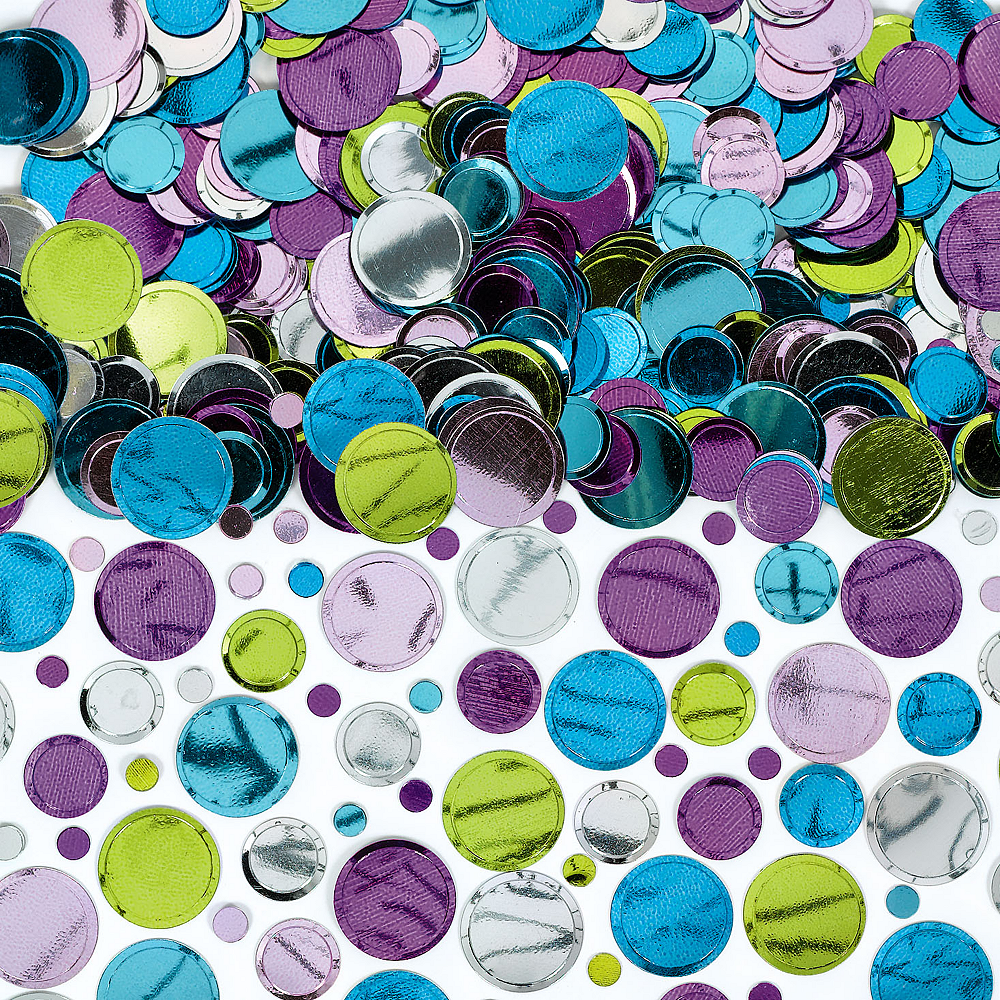 Pastel Dot Confetti Image #1