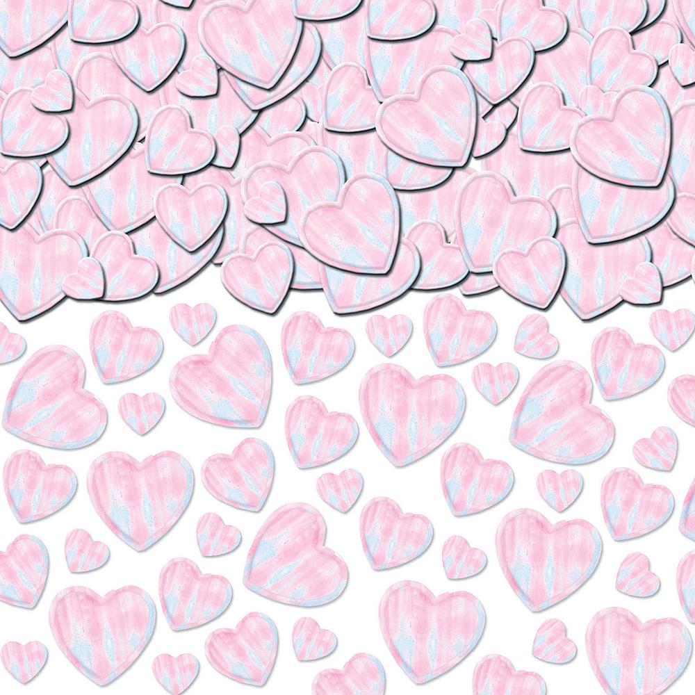 Iridescent Heart Confetti Image #1