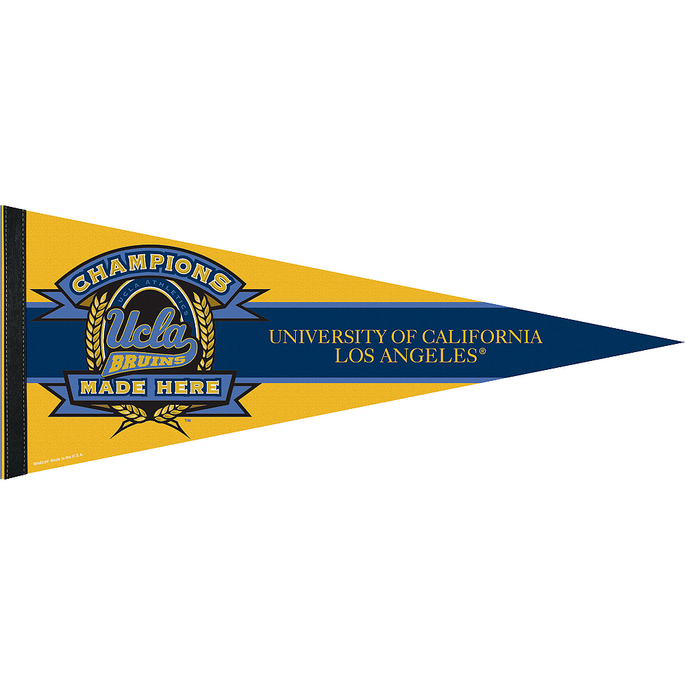 Nav Item for UCLA Bruins Pennant Flag Image #1