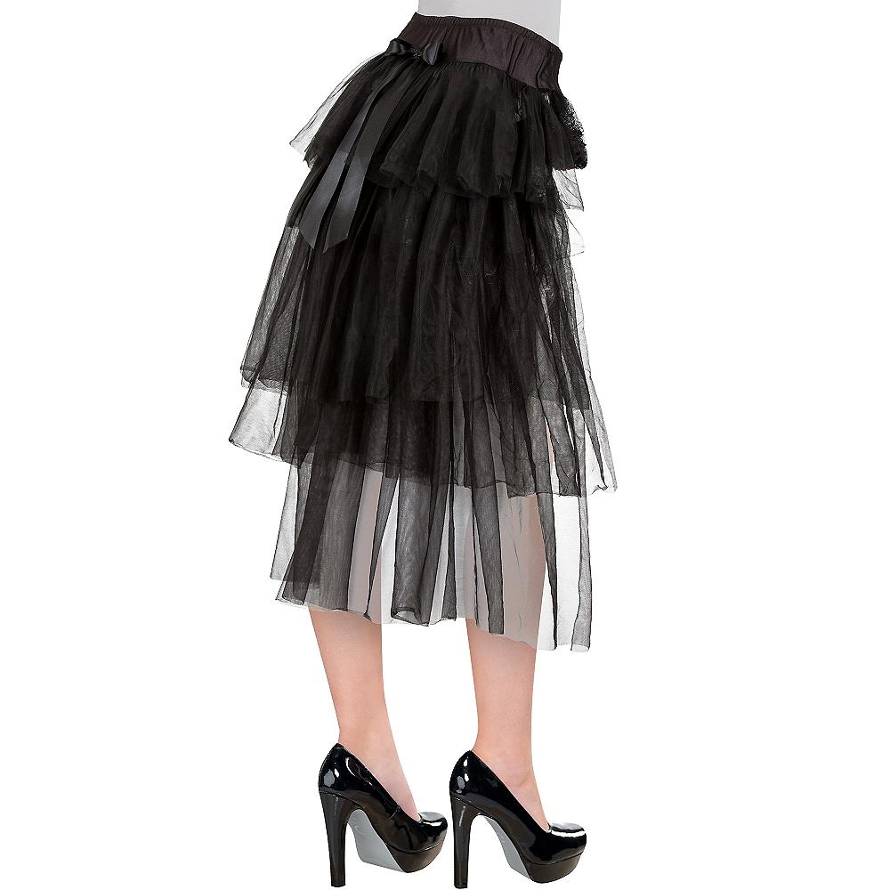 Long Tulle Bustle Skirt Image #1