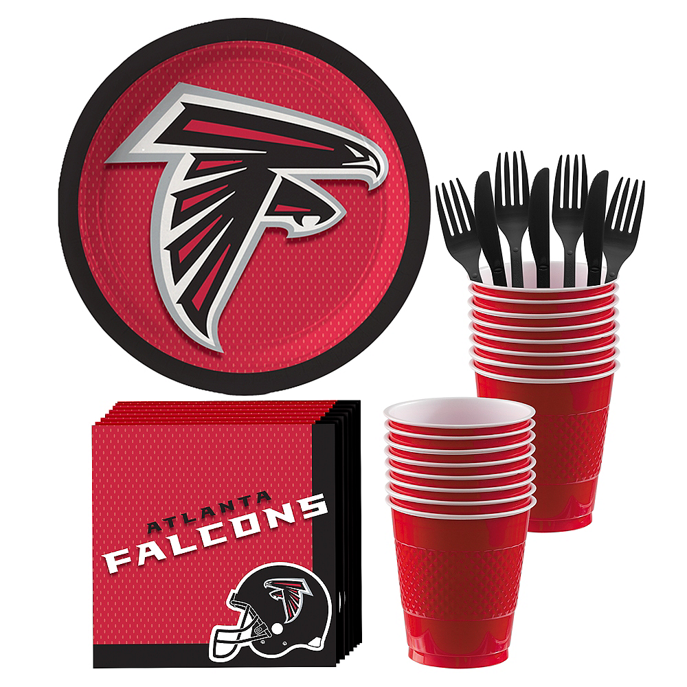 Atlanta Falcons Party Kit for 18 Guests Image #1