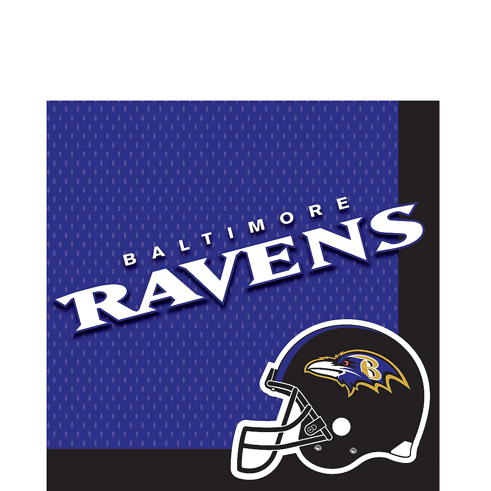 Baltimore Ravens Party Kit for 18 Guests Image #3