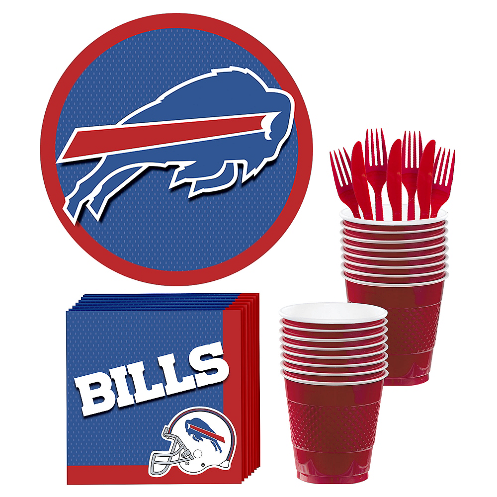 Buffalo Bills Party Kit for 18 Guests Image #1