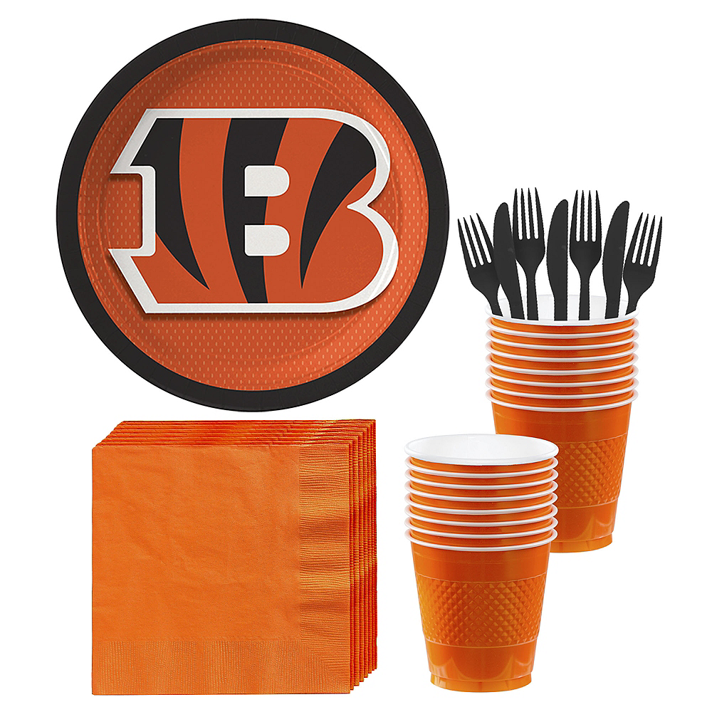 Cincinnati Bengals Party Kit for 18 Guests Image #1