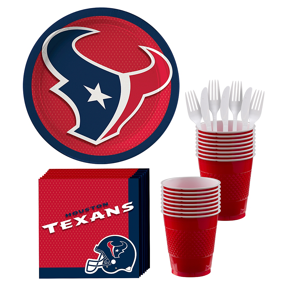 Houston Texans Party Kit for 18 Guests Image #1
