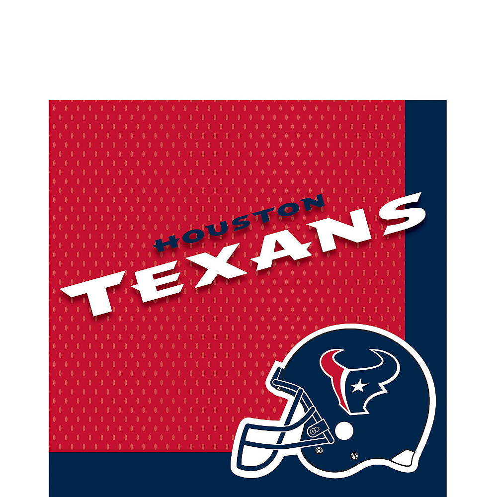 Houston Texans Party Kit for 18 Guests Image #3