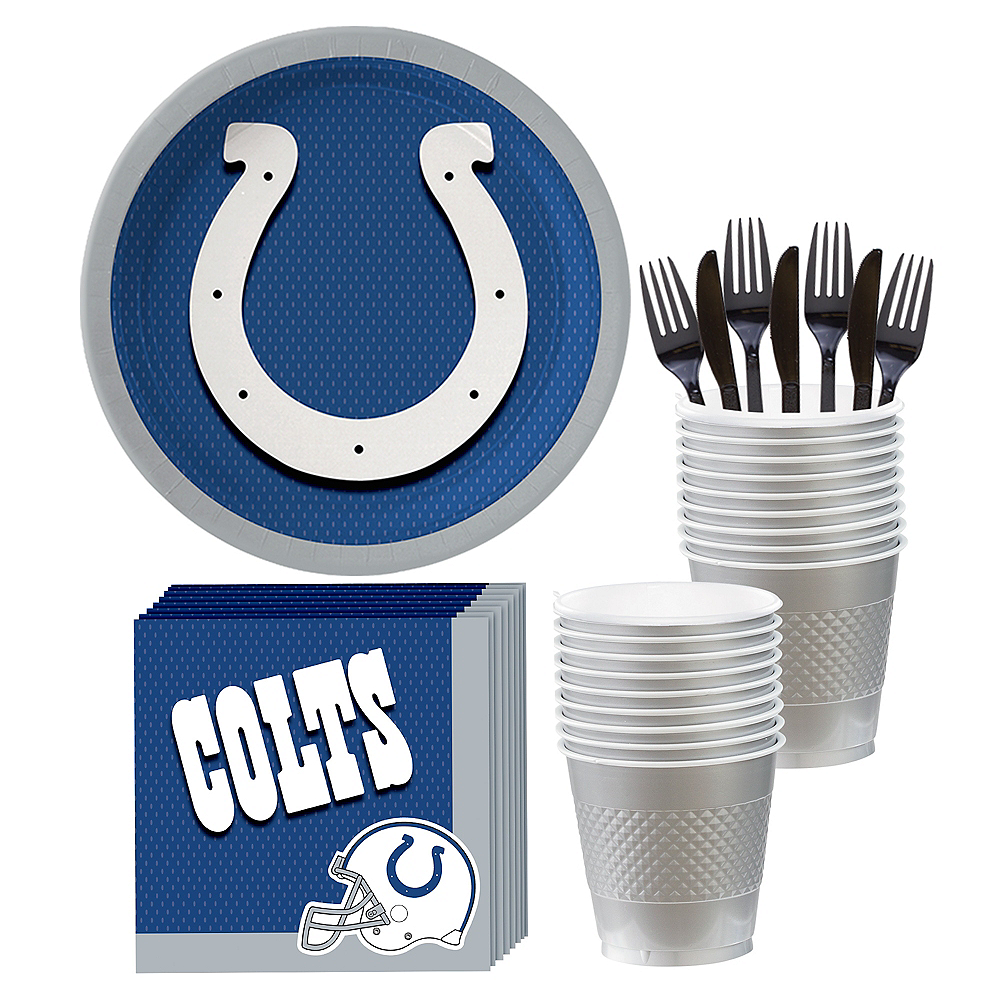 Indianapolis Colts Party Kit for 18 Guests Image #1