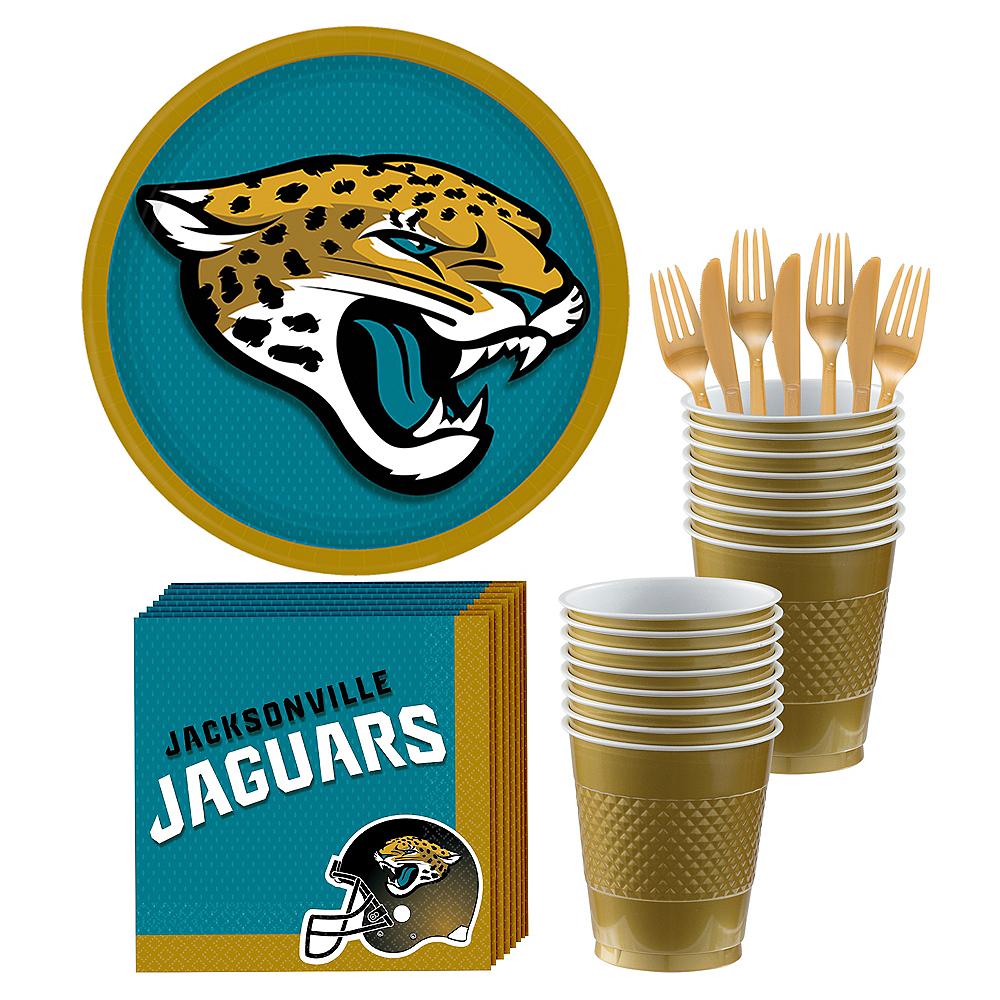 Jacksonville Jaguars Party Kit for 18 Guests Image #1
