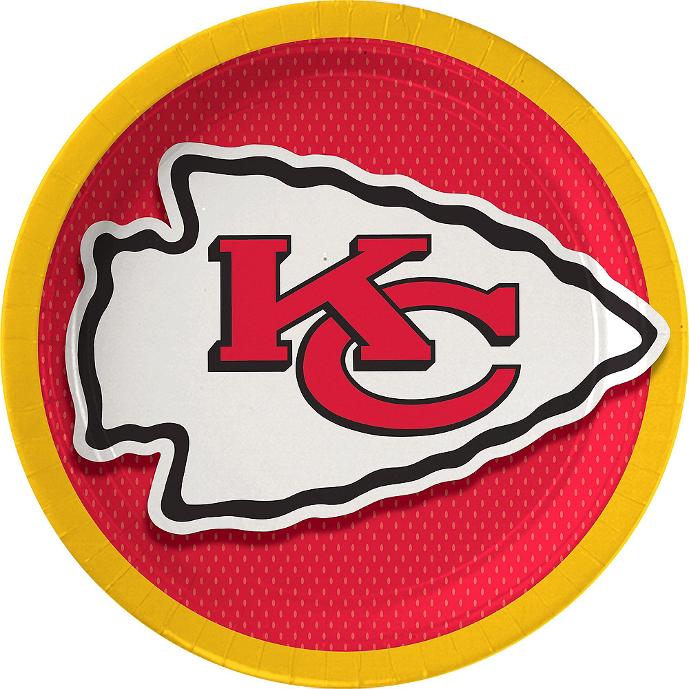 Kansas City Chiefs Party Kit for 18 Guests Image #2