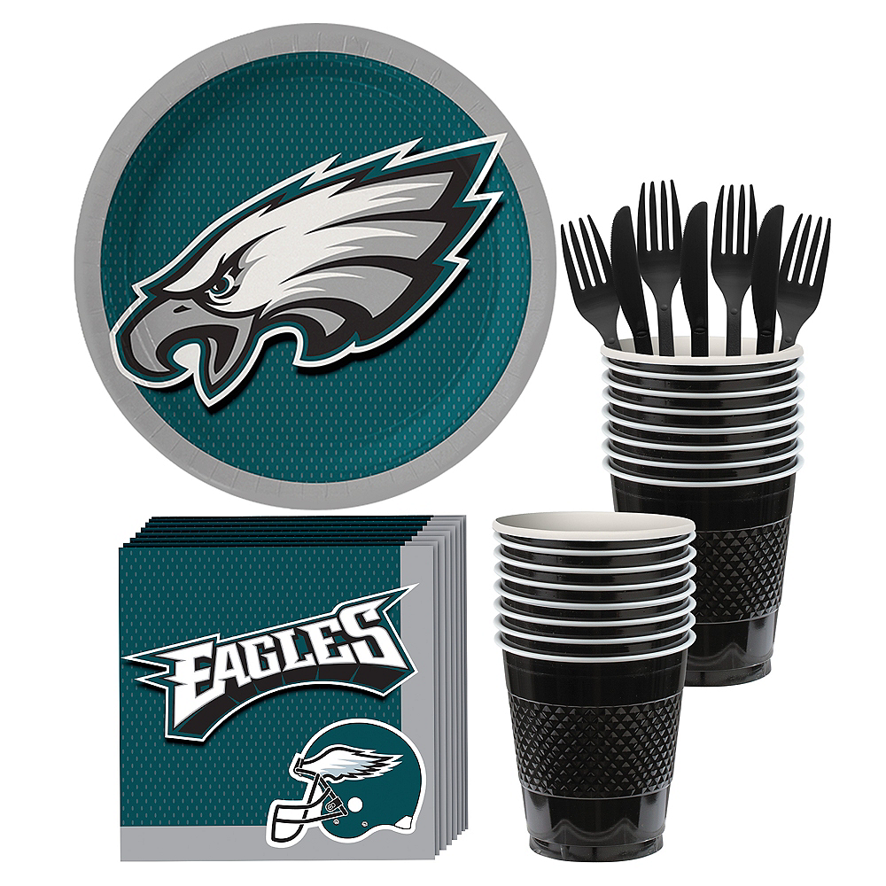 Philadelphia Eagles Party Kit for 18 Guests Image #1
