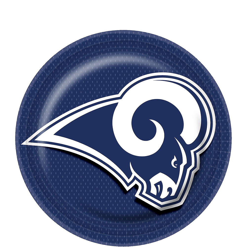 Los Angeles Rams Basic Party Kit for 18 Guests Image #2
