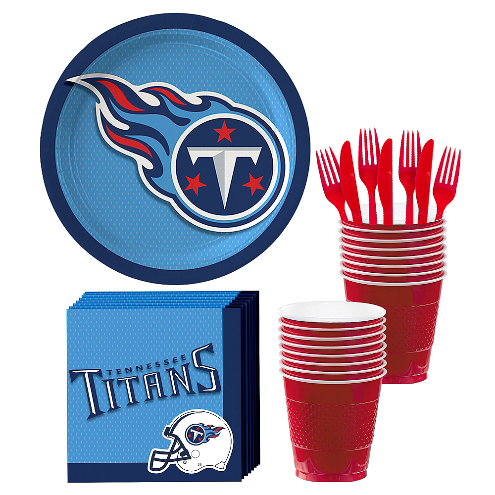 Tennessee Titans Party Kit for 18 Guests Image #1