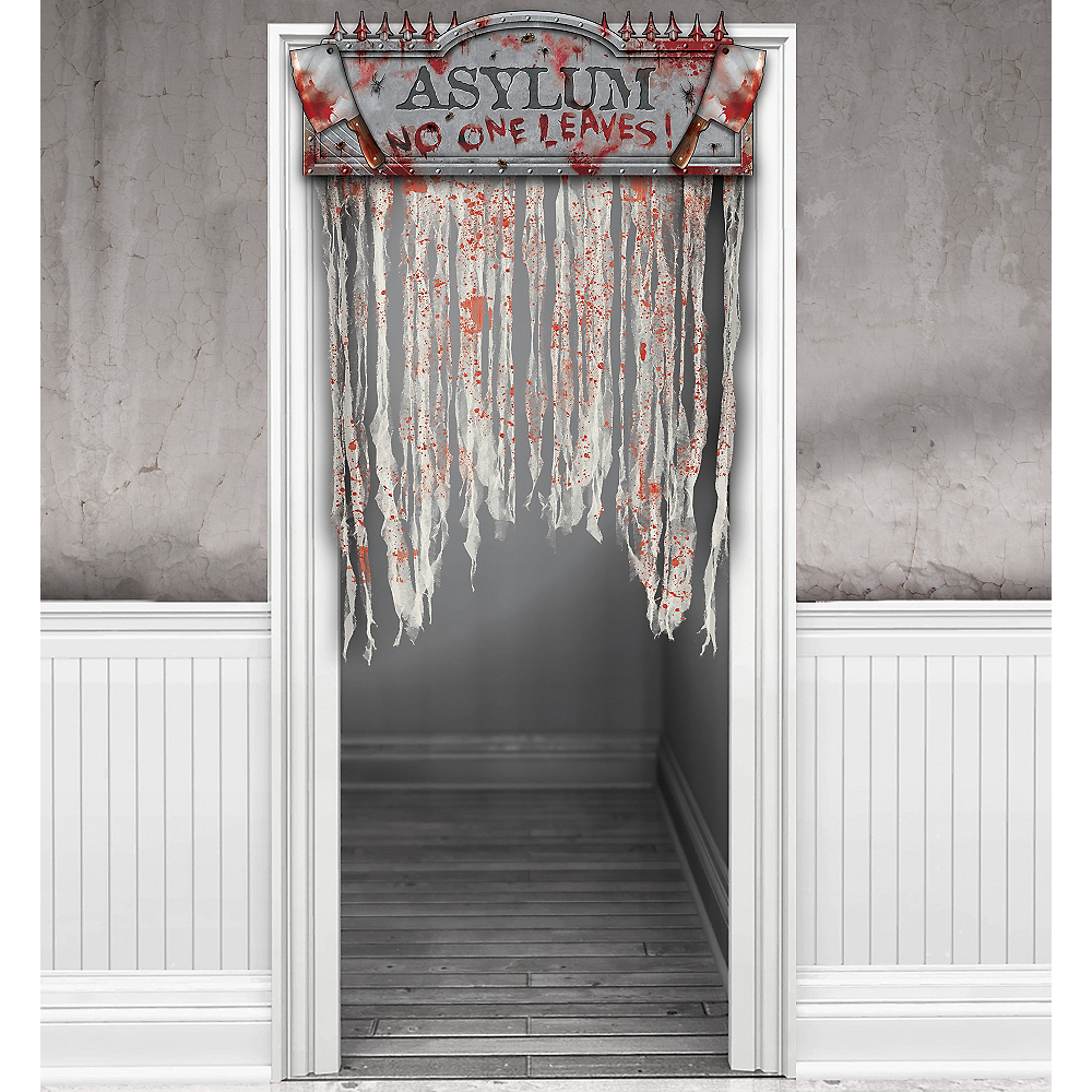 Bloody Doorway Curtain - Asylum Image #1