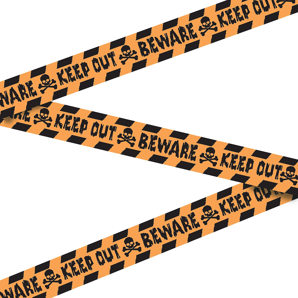 Keep Out Beware Tape Image #1