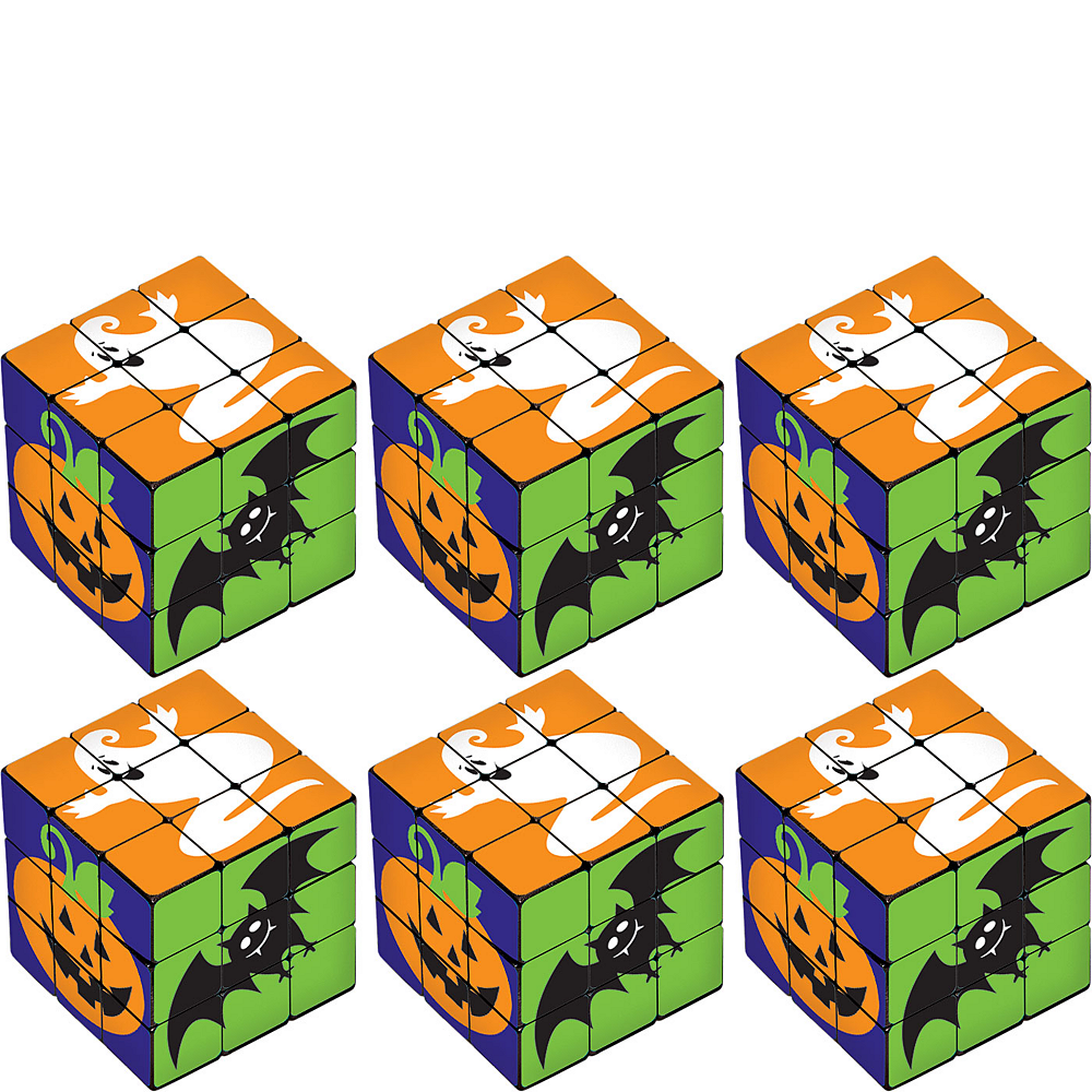 Halloween Puzzle Cubes 6ct Image #1
