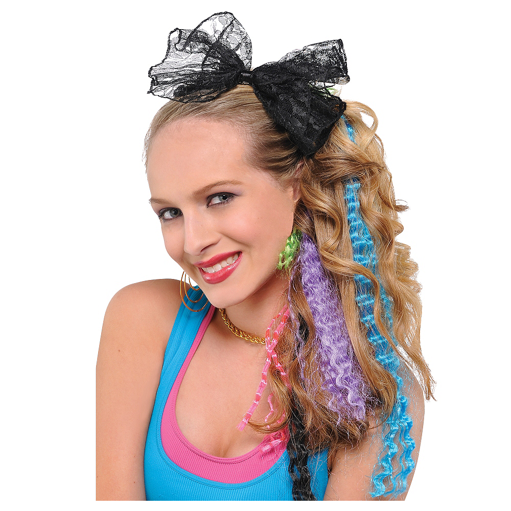 80 S Crimped Hair Extensions 4ct