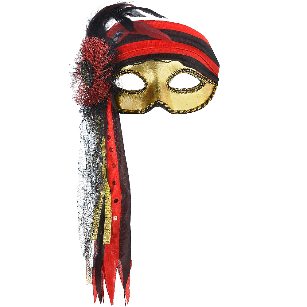 Pirate Masquerade Mask Image #1