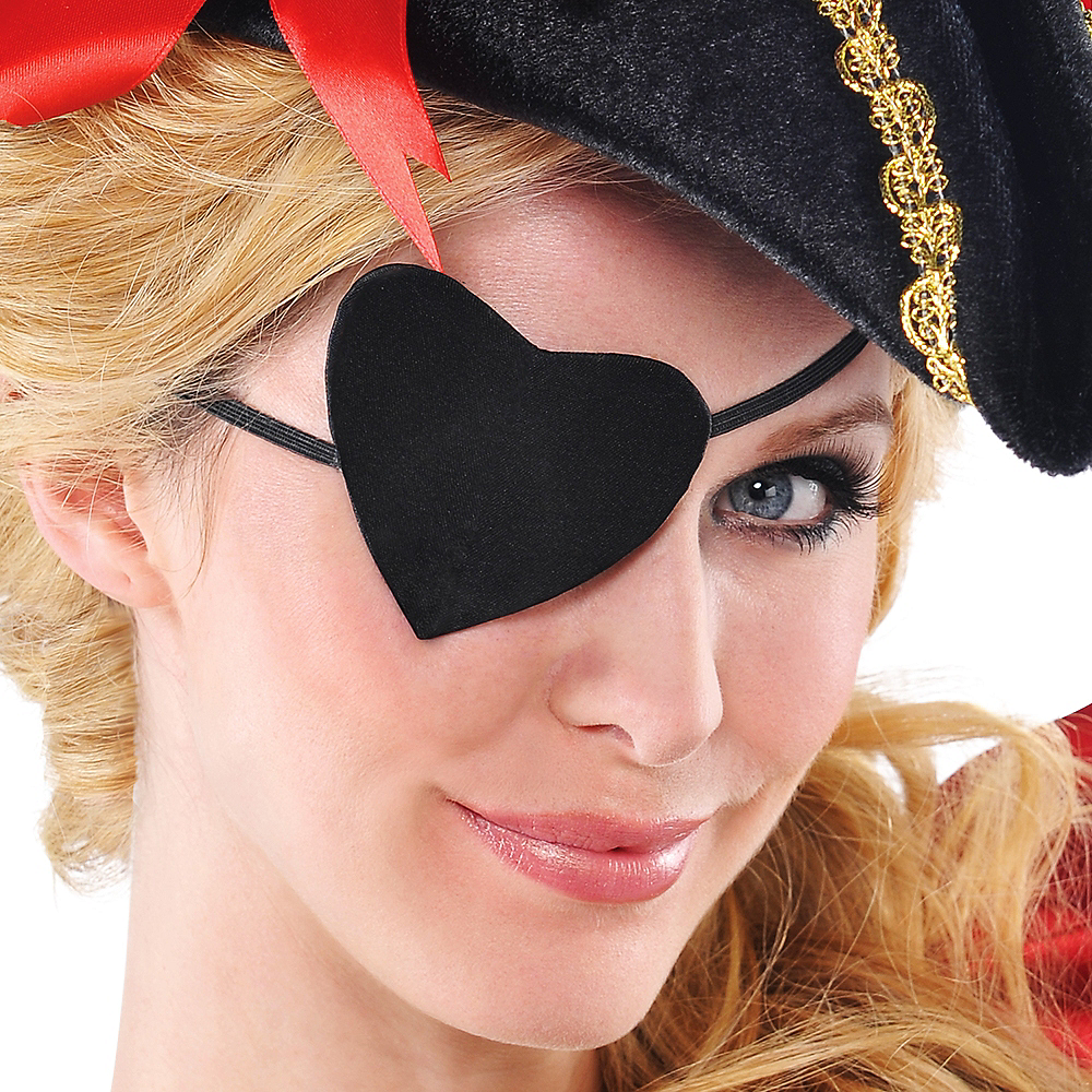 Pirate Heart Eye Patch Image #2