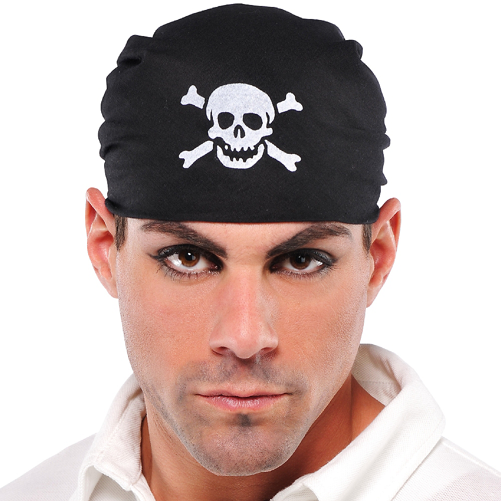 Nav Item for Pirate Skull Bandana Image #2