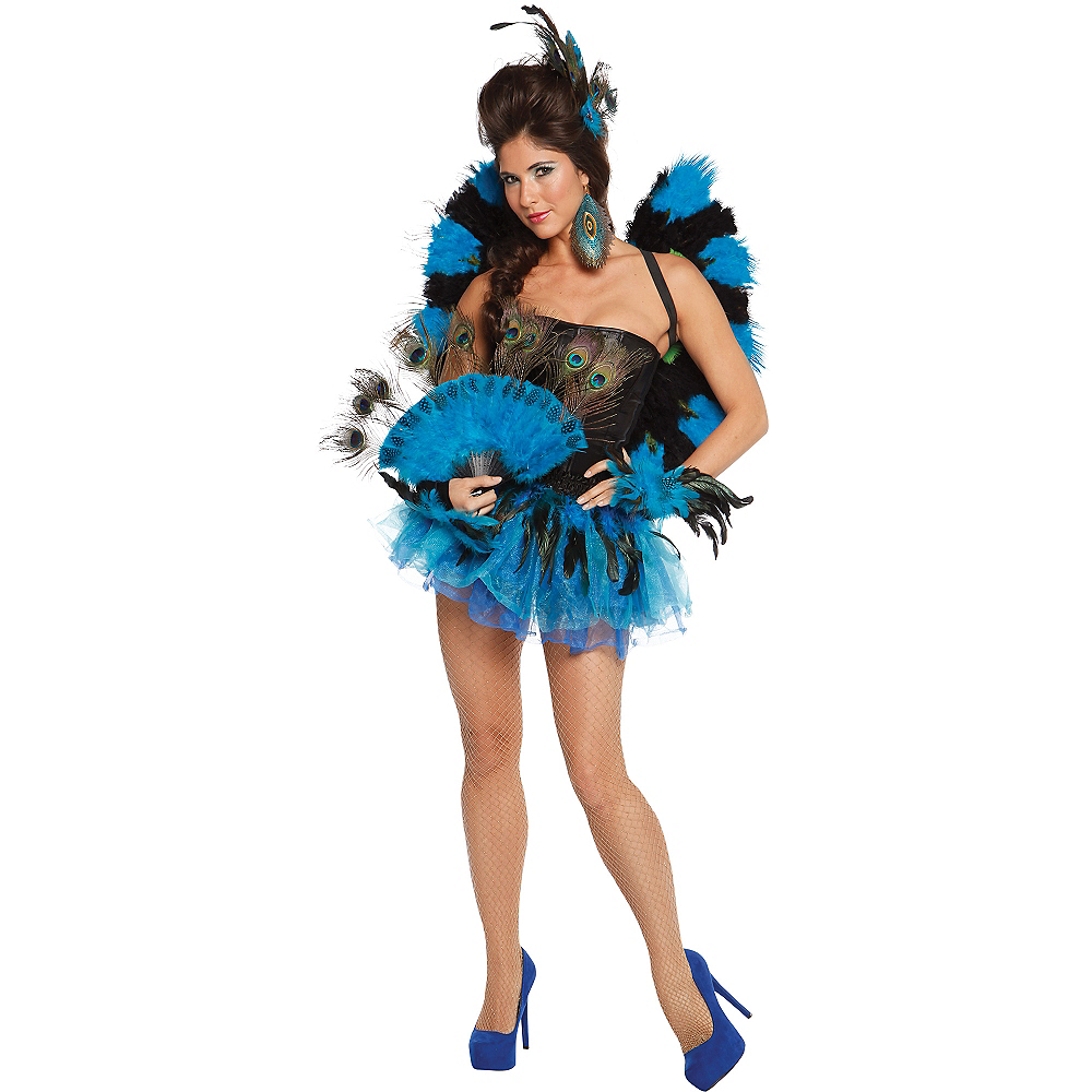 Nav Item for Adult Blue Tutu Image #2