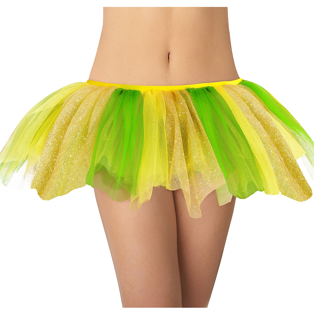 Adult Yellow & Green Tutu Image #1