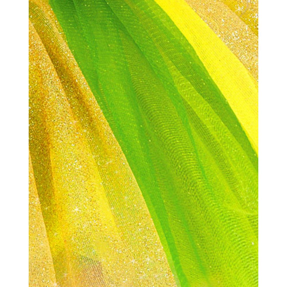 Adult Yellow & Green Tutu Image #2