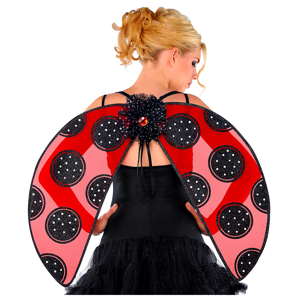 Nav Item for Adult Ladybug Wings Image #1