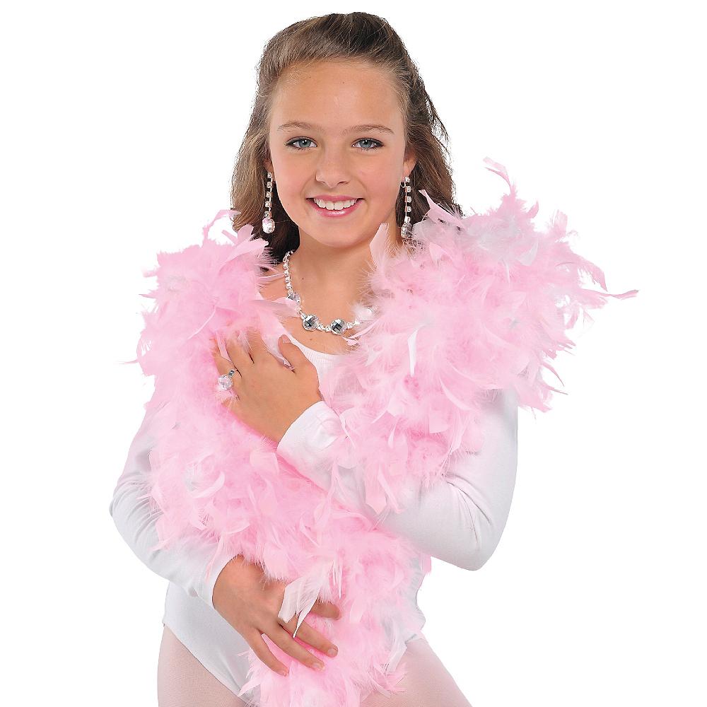 Pink Princess Boa 54in Image #2