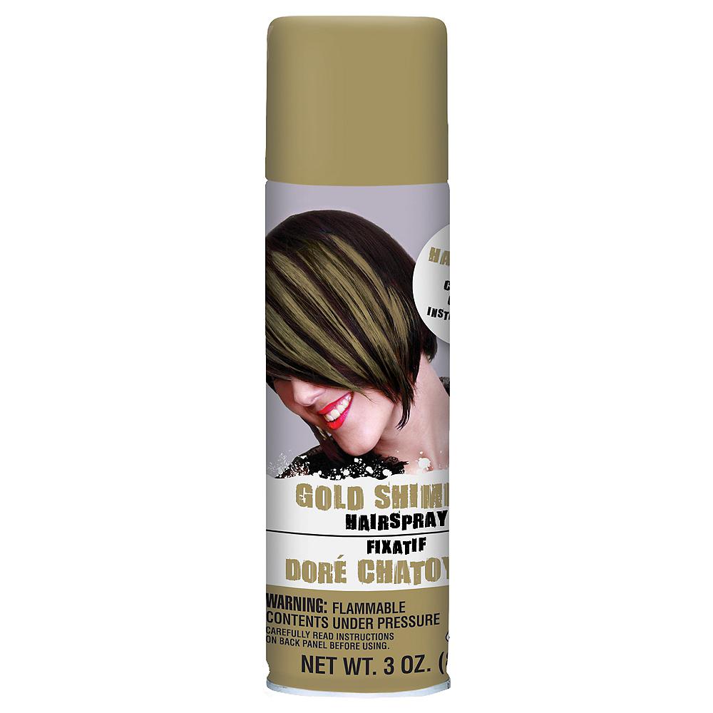 Gold Hair Spray 3oz Party City