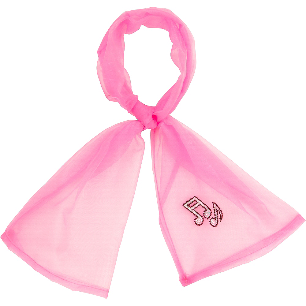 50's Pink Scarf Image #1