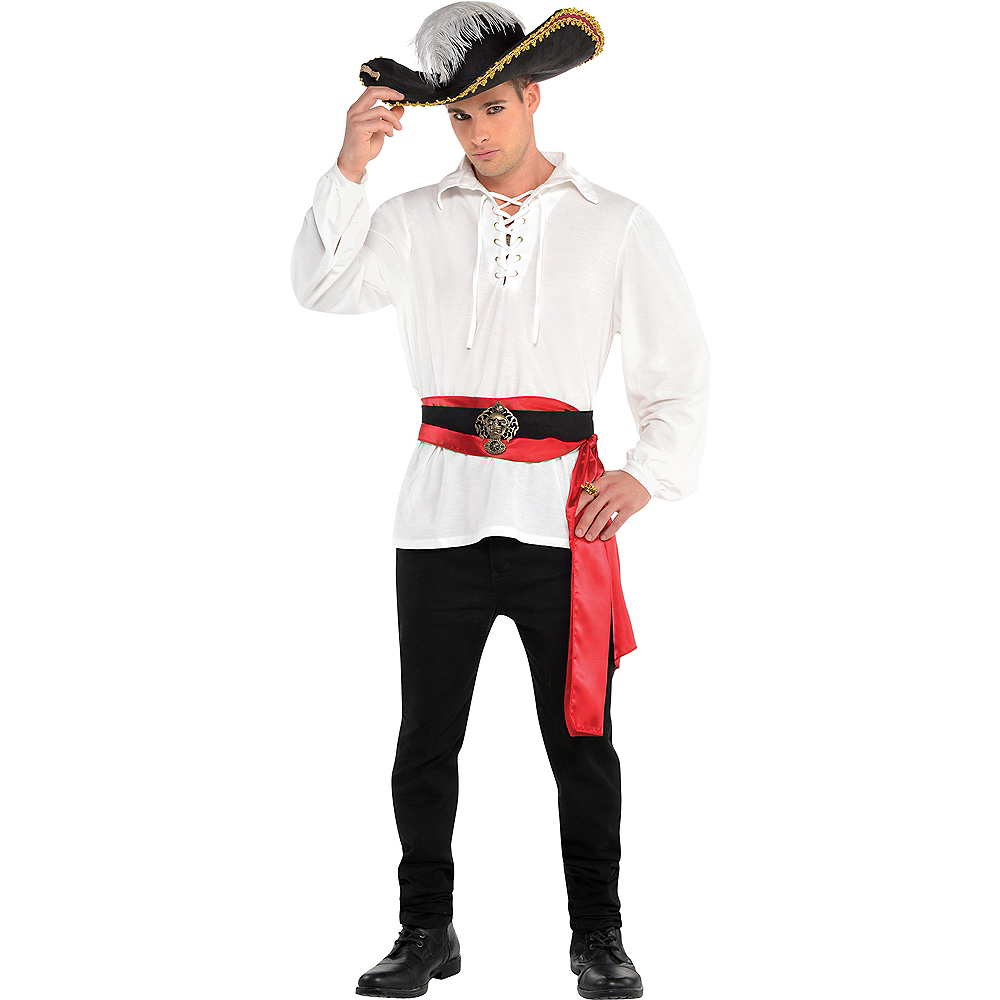 Adult Pirate Shirt Image 1